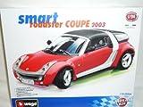 Smart Roadster Coupe 2003 Rot Kit Bausatz 1/24 Bburago Burago Modellauto Modell Auto