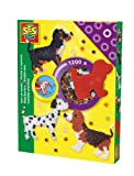 SES Creative Children's Iron on Beads Dog Set