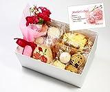 プチ花束と小さなケーキやさんの焼き菓子セット 母の日ギフト 母の日メッセージカード付【17】