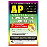 img - for AP Government & Politics (REA) - The Best Test Prep for the Advanced Placement (Advanced Placement (AP) Test Preparation) book / textbook / text book
