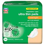 Rite Aid Maxi Pads, Over Night Ultra Thin 14 ct.