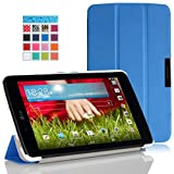 MoKo LG G Pad 7.0 Case - Ultra Slim Lightweight Smart-shell Stand Case for LG G Pad V400 7