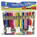 Iris 150-Pack Embroidery Super Giant...