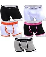 Calvin Klein CK 365 Boxershort Low Rise Trunks 5er Pack. Größe: M(4) - L(5) - XL(6). NEU