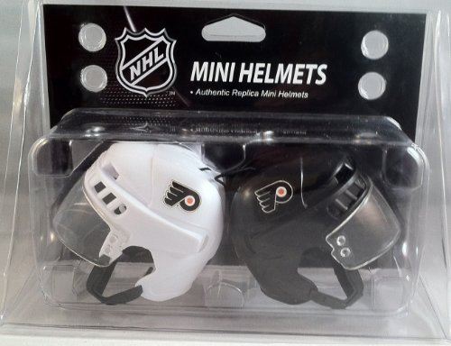 NHL Philadelphia Flyers Kloz Mini Helmet Pair at Amazon.com