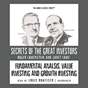 Fundamental Analysis, Value Investing, and Growth Investing | [Roger Lowenstein, Janet Lowe]