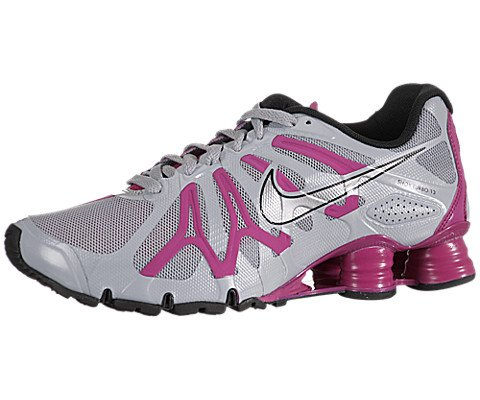 ... purchase nike womens shox turbo 13 wolf grey metallic silver fireberry  black 6 b us amazon 16df2bf4b