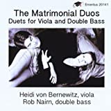 The Matrimonial Duos for Viola and Bass: II. Love Song