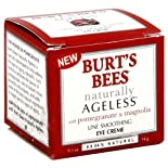 Burt's Bees Naturally Ageless Line Smoothing Eye Creme with Pomegranate & Magnolia