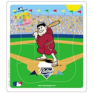 San Diego Padres MLB Licensed 9-pc Puzzle for Toddlers by Hunter