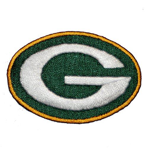 Green Bay Packers Logo Embroidered Iron On Patches