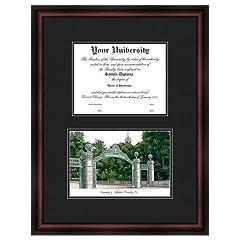 Cal Berkeley Golden Bears Diploma Frame & Lithograph Print by Landmark Publishing