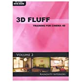 3D Fluff Training for CINEMA 4D Release 9/10 - Vol.2、Radiosity Interiors 英語版 Hyb 価格改定