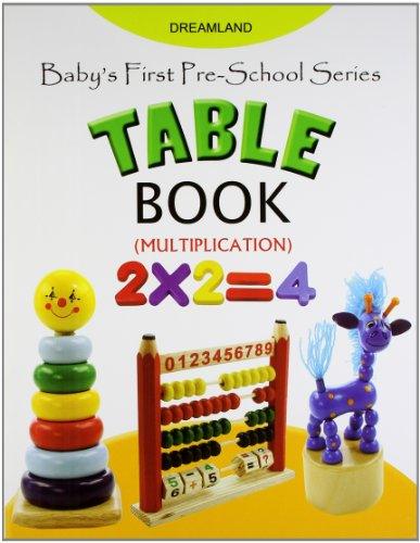 Baby's First Pre-School Series: Table Book Image