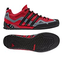 bb0f133ea Buy Adidas D67032 Men s TERREX SWIFT SOLO University Red Black Lead  Athletic Shoes 10.5