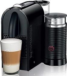 Nespresso U Pure Black Milk Espresso Machine by Nespresso