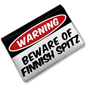 Beware of the Finnish Spitz Dog from Finland, Cover Case /: Clothing