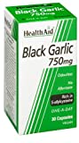 HealthAid Black Garlic 30 Vegicaps 750 mg