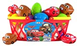 Pack of 18 Walt Disney Movie Cars Candy Filled Plastic Eggs for Easter Basket