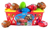 Pack of 18 Walt Disney Movie Cars Candy Filled Plastic Eggs for Easter Basket by Galerie
