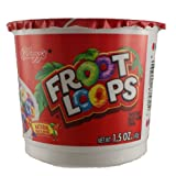 Kellog's Froot Loops Cereal Cup (6 Pack)