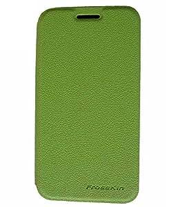 Flip Cover For Samsung Galaxy Core 2 SM-G355 Parrat Green Color