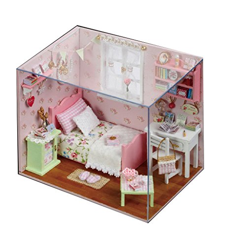 [Pink Room Miniature House Manual Assembly Model] (Vintage Blow Up Halloween Costumes)