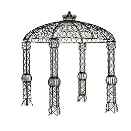 Scroll Top Wire Pergola : Target