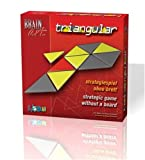 Brain Art Triangular Strategic Puzzle Game