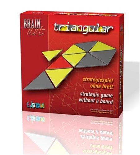 Brain Art Triangular Strategic Puzzle Game