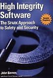 Sampler for High Integrity Software (0321199731) by Barnes, John