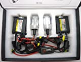 H1 Headlight Main Beam HID kit slim canbus ballast 5,000k white bulbs, that will Fit BMW X5 2002