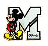 Disney Character Mickey Mouse Patches Cartoon Patches Sew/iron on Patch to Cloth, Jacket, Jean, Cap, T-shirt and Etc.