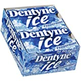 Dentyne Ice Peppermint Sugarless Chewing Gum, 9-Piece Packages (Pack of 9)