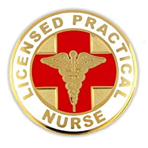 Licensed Practical Nurse LPN Lapel Pin