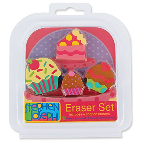 Stephen Joseph Eraser Set-Sweets