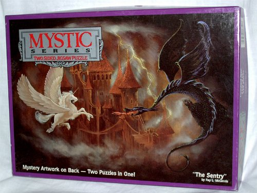 Mystic Series Puzzle - The Sentry by Ray L. McGinnis: Double Sided Puzzle - 1
