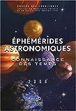 echange, troc Bureau des longitudes, Observatoire de Paris, Institut de Mécanique Céleste - Ephémérides astronomiques : Connaissance des temps (1Cédérom)