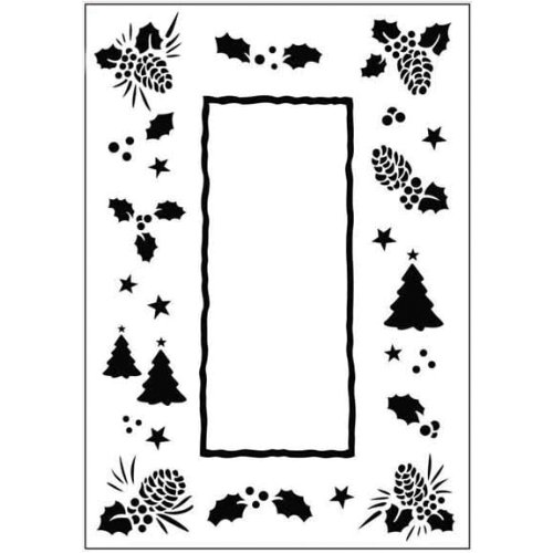 Christmas Holiday Embossing Folders