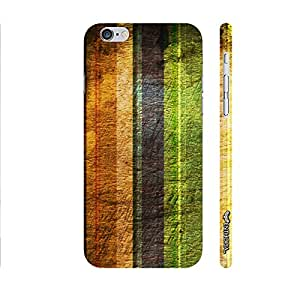 Apple IPhone 6 Plus STRIPEY GRUNGE designer mobile hard shell case by Enthopia