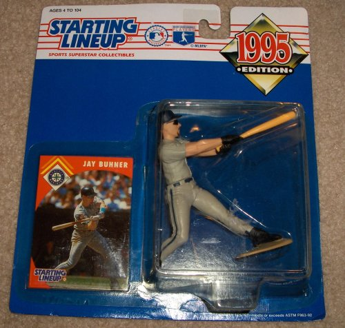 1995 Jay Buhner MLB Starting Lineup Figure