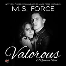 Valorous: Quantum Trilogy, Book 2 (       UNABRIDGED) by M.S. Force Narrated by Brooke Bloomingdale, Cooper North