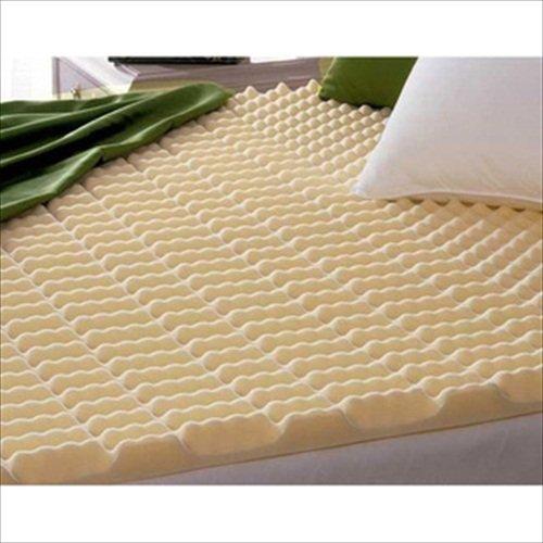 Beautyrest Cut Zoned Convoluted Polyurethane Foam Mattress Topper Twin Good Choice Extra