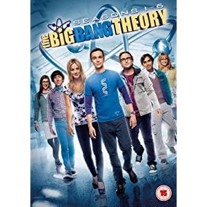 The Big Bang Theory - Season 1-6 [DVD] [2013] [STANDARD EDITION] [Import an