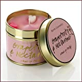 Bomb Cosmetics Scented Candle Tin, Grapefruit and Nectarine