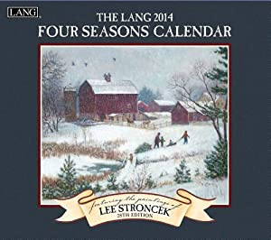 Lang Perfect Timing - Lang 2014 Four Seasons Wall Calendar, January 2014 - December 2014, 13.375 x 24 Inches (1001692)