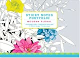 Modern Floral Sticky Notes Portfolio