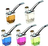 Multi-function-Water-Tobacco-Smoking-Pipe-Cigarette-Holder-Hookah-Double-Filter-random