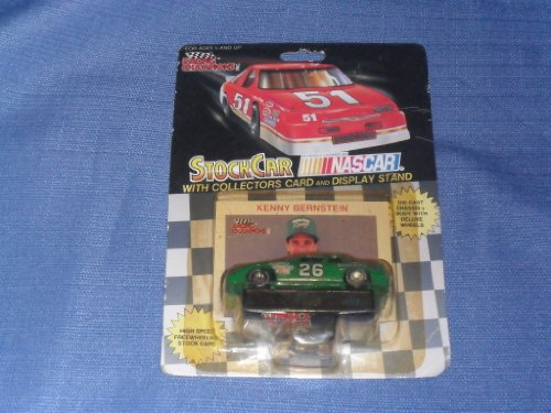 1991 NASCAR Racing Champions . . . Kenny Bernstein #26 Quaker State 1/64 Diecast . . . Includes Collectors Card and Display Stand - 1