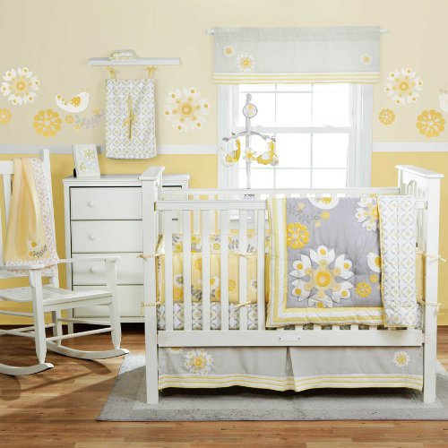 Girls Baby Bedding 332 front